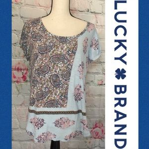 💥Lucky Brand Floral Paisley Blouse💥L